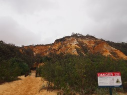 Fraser Island - The Pinnacles