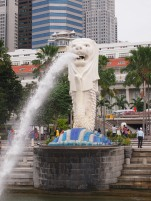 Singapour - Merlion