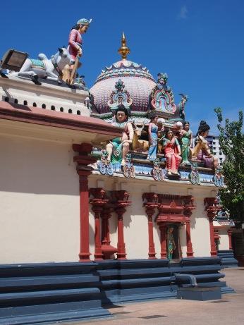 Singapour - Sri Mariamman Temple