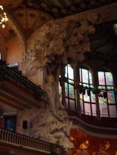 Espagne - Barcelone - Palau de la musical Catalana