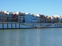 Espagne - Séville - Le long du Rio Guadalquivir