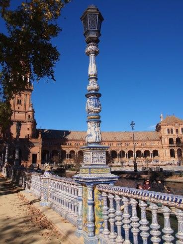 Espagne - Séville - Plaza de España