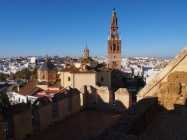 Espagne - Carmona - L'Alcazar de la Puerta de Sevilla