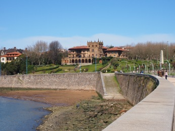 Espagne - Getxo - Paseo de las Grandes Villas