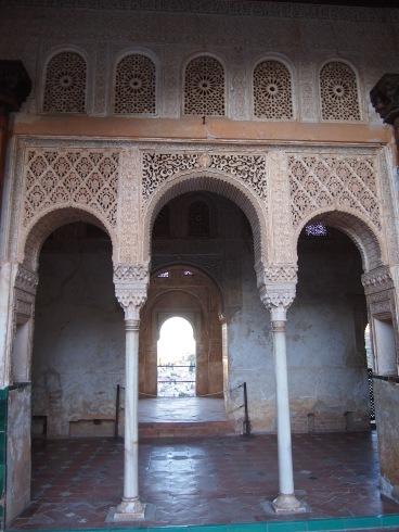 Espagne - Grenade - L'Alhambra : Generalife